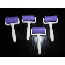 4 Mini Rodillos Para Reposteria