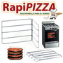 Prepizza Multi Parrilla Porta Bandeja Hasta 5 Pizzas Horno