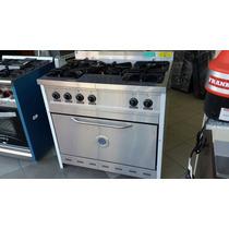 Cocina Semi Industrial 90 Cm Corbelli 5 Hornallas