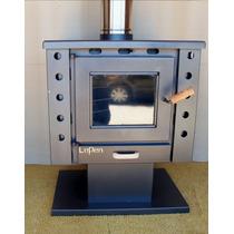 Calefactor A Leña 13000 Kcal Con Base Lepen
