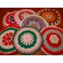 Hermosas Agarraderas O Posa Pava Tejidas Al Crochet, Acolcha