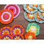 Set De Posavasos De Hilo Al Crochet