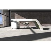 Escritorio Laqueado Mesa Diseño Moderno Muebles Oficina