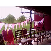 Banderines De Fiselina Ideal Cumpleaños !!!!!!