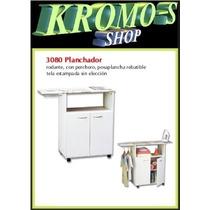 Mueble Planchador 3080 Gabinete Rodante Platinum Kromo-s