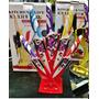 Set 5 Cuchilos Colores Decorados Antideslizantes Con Soporte