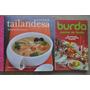 Lote X 2 Libro Cocina Internacional Tailandia + Burda Fiesta
