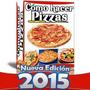 Mega Libro Aprende A Hacer Pizzas Y Cono Pizzas Leer Aviso
