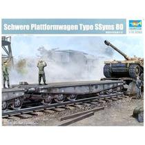 Schwere Plattformwagen Type Ssyms 80 Trumpeter 221 Esc. 1/35