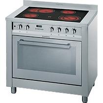 Cocina Ariston Cpov9 M Acero Electrica 90 Cm 88980