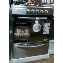 Cocina Domec Cgxpav Autolimpiante Acero Inoxidavle Multigas
