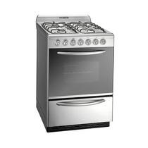 Cocina A Gas Domec Unimatic Inoxidable 56cm Cxuleav C/válvu
