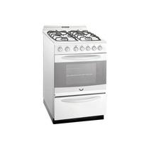 Cocina Domec Tecno 56 Cm Multigas Luz Encendido Timer Blanca