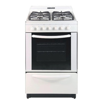 Cocina Domec 56cm 61955 Multigas Bca 4 Hor V/s Encend