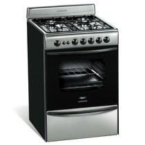 Cocina Longvie 13501x Acero 56cm Timer Encendido Calidad