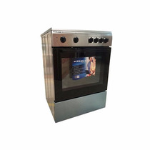 Cocina Philco Electrica 60cm Ec-ph121 Acero Inox Brukman