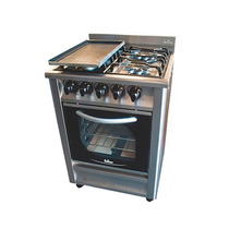 Cocina 4 H - 600 - Puerta Vidrio Mod. Trattoria Fornax