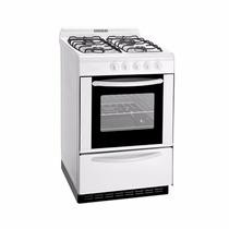 Cocina Domec 61950 56cm Multigas 4 Hornallas Autolimpiante