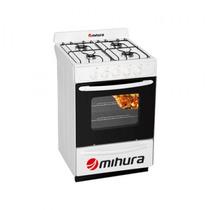Cocina Mihura 56cm. Blanca Multigas Valvula De Seguridad