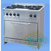 Cocina Semi-industrial Acero Inoxidable 90cm - Palermo
