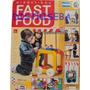 Carro Ruedas Infantil Fast Food Comida Material Didáctico