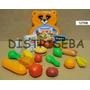 Puppa Comida Comiditas Plástico Material Didactico