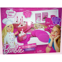 Set Comiditas Barbie