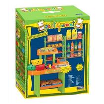 Petit Gourmet Supermercado Con Caja Registradora Accesorios