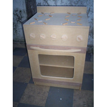 Juguetes:muebles De Cocina Para Chixos, Sin Pintar