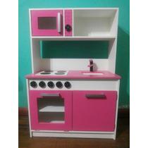 Juguete Mueble Cocina Infantil Para Chicos Mdf 12 Mm