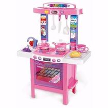 Juguete Mi Primer Cocina Nena Love Infantil 34 Accesorios
