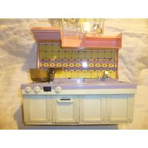 Antigua Cocina De Juguete Kitchen Set,mecanismo A Pilas