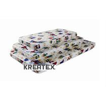 Colchón Infantil De Espuma 100x50x10 Kreatex