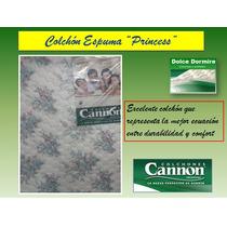 Colchon Cannon Princess Espuma -med 190 X 80 X 20 Cm!