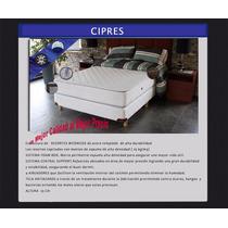 Tienda Suite Mendoza Colchón Resorte Cipres Una Plaza 80x190