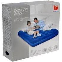 Colchon Inflable Bestway Comfort Quest 2 Plazas