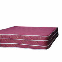 Colchon De Resortes Doble Eurotop Con Resortes Bordo