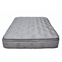 Colchon Super Reforzado Pillow Desmontable Doa Plazas Y Medi