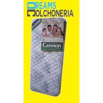 Colchon Cannon Princess 1 Plaza 190 X 80 X 20 Espuma 24 Kg