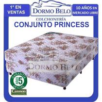 Super Oferta! Conjunto Cannon Princess 1x1,9 X 23cm 11/2 Pl