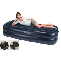 Colchon Inflable 1 1/2 Plaza Inflador Electrico Bestway
