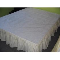 Cubre Somier- Accesorios Para Tu Dormitorio-felices Fiestas