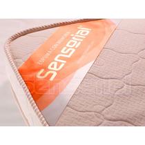 Pillow Top Desmontable Sensorial Viscoelastico 140x190 10 Cm