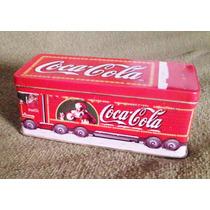 Lata Vela Camion Navidad Coca Cola