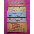 Libro De Oro Editorial Novaro Para Armar Aviones Incompleto
