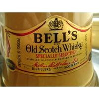 Botella Vacia De Bell´s Scotch Whisky...impecable