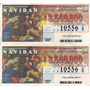 Billetes De La Loteria Nacional Sorteo De Navidad 1995 (a)
