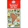 Mapa Guía Turística Esso América Del Sur - Año 1960