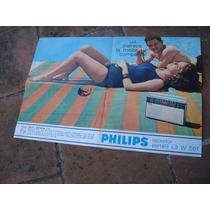 Antiguo Folleto Radio Philips