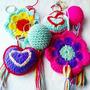 Llaveros Tejidos Al Crochet